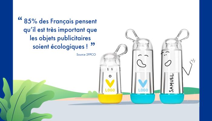 85% des Français pensent qu'il est très important que les objets publicitaires soient écologiques