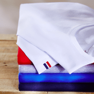 TEE-SHIRT Made in France bleu blanc rouge gris
