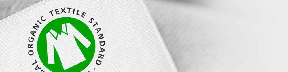 label Global Organic Textile Standard (GOTS)